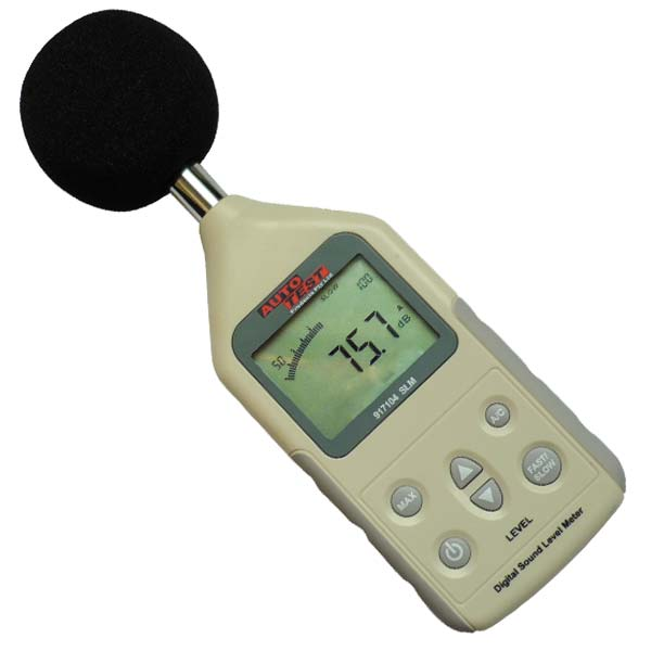 AutoTest Digital Sound Level Meter
