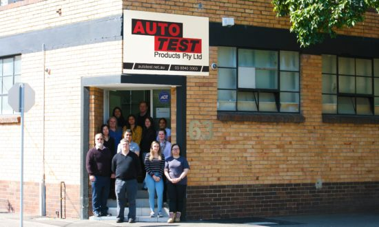 AutoTest Staff Picture in Melbourne office, Kensington